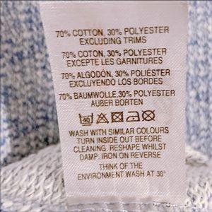 ASOS Dresses - ASOS | Heather Blue Long Sleeve Sweater Dress S